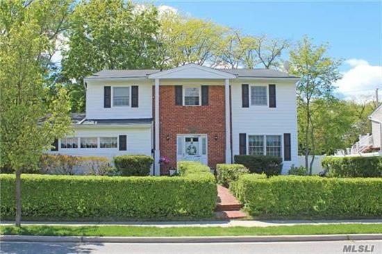 Low Taxes With Additional Reduction Approved For 2018/2019! Spacious Colonial Located In Quiet Section Of Locust Valley. Home Features 4 Lrg Bedrooms, 2.5 Baths, Hardwood Floors, Updated Eat In Kitchen And Main Floor Laundry. Den With Wood Burning Fireplace And Anderson Sliders Leading To Large Private Back Yard. 2 Car Att Garage, 4 Season Rm And Enclosed 2nd Fl Porch.
