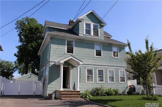 Spectacular 3 Story Home With Old English Charm. Totally Renovated Inside With New Roof, New Gutters, New Electrical, New Plumbing, 5 Bedrooms, 3 Full Baths, 2 Car Detached Garage. Beautiful Fenced In Backyard.