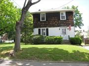Oversize Property With Potential In Terrace Manor,  80X100 Lot, 2 Car Garage W/ Long Driveway, Sold As-Is, Munsey Park Elementary School, Manhasset School District #6, Walk To Town, Train, Shopping, Bus And Library