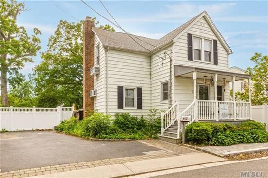 One Of A Kind Colonial W/Huge Eat-In-Kitchen & Oversized Backyard! Above Ground Pool Is A Gift! Replaced Roof & Windows, Converted To Gas Heat! Neat Clean Home! Move-In Condition! L O W  T A X E S !