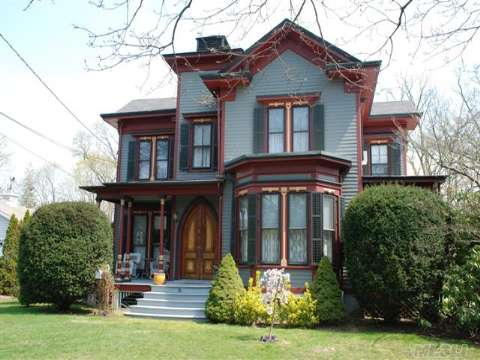 Bvintage Circa 1884 True Victorian Intact. This House Has 12 Rooms 5+ Bedrooms,A Tower Room And Separate Office.Original Custom Plasterwork And Mouldings On 10.5 Ft Ceilings.New Roof To Sheathing,New 200 Amp ,Electric, New Hot Water Heater. 10 Yr Old Barn. This List Goes On. For The True Lover Of Victorian Homes, Built In 1884 By Capt Charles Floyd Terry.Taxes Wstar $13,18