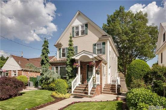 Legal 2 Family House, 5 Bedroom Colonial With Gas Heating, 4 Full Bathrooms, Detached 2 Car Garage, With Electric And Potential To Heat With Gas Line. Nice Size Property On Quiet Street In Cedarhurst , Inground Sprinklers, Walking To Distance To Houses Of Worship.