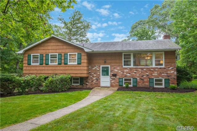 Don't Let This One Get Away! Pristine 4-Bd, 2.5-Ba Hiranch On A Sprawling .36 Acre! Spacious Rooms W/Great Light. Eik W/Door To Deck. Family Rm W/Fireplace. Mstr Bdrm W/Full Bth. Wood Flrs Under Carpets. Updates Incl Full Bths (2015), Roof (2004) Burnham Gas Boiler (2010) & Hw Heater (2010). Great Deck For Relaxing/Entertaining. Huge Back Yard W/Room For Pool & Family Fun.