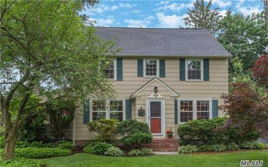 Fabulous 1930'S Colonial Completely Updated For Today's Lifestyle. Situated On .25 Acres With Beautiful Plantings, Garden And Mahoghany Decking, 4 Bedrooms, 2.5 Baths, Wood Floors Throughout, Custom Cabinetry, Walk-Up Attic For Storage. Close To Village And Railroad. Harborfields Sd#6.
