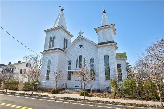 Restored 1880 Church With Bell Tower, Balcony, Large Open Floor Plan With Gourmet Kitchen, 5 Bedrooms, 4 Full Bathrooms, Cac, Gym. Large 10, 400 Sf Lot Leaves Plenty Of Private Outside Space - Rare For The Village. Stained Glass, Soaring Ceilings. Architectural Details In Tact!