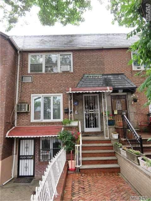 Beautiful Solid Brick 3 Family Renovated 2006 Featuring: 3 Separate Meters, 2 Bedroom 1 1/2 Bath Unit, 2 Bedroom 2 Bath Unit, 3 Bedroom 2 Bath Unit, 3 Kitchens, Private Driveway, Skylights, Sprinkler, Beautiful Yard, Located On A Quiet Residential Street, Close To Manhattan & Bqe And Much More! Must See To Appreciate!