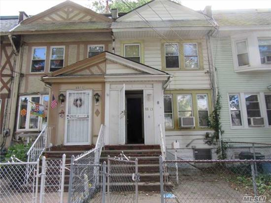 Nice One Family Property In Queens. Needs Cleaning, Updating, Tlc And Personal Touches Sold In As Is Condition