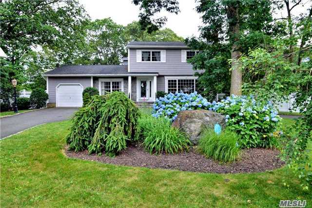 Beautiful Colonial Nestled On A Quiet Cul-De-Sac In East Northport. Updates Galore! Renovated Kitchen (W/Propane Cooking) & New Baths. Roof (2012) & Cac (2014), Custom Trim, Recessed Lighting & Hardwood Floors. Circular Driveway. Relax In The Picturesque Backyard W/ Infinity Edge Pool, Hot Tub & 50 Ft. Waterfall. Award Winning Commack Schools! Home Sweet Home! Won't Last!