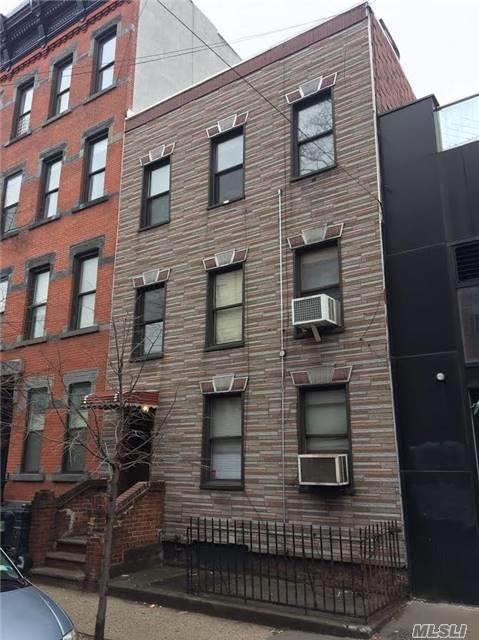 3 Family Home In Williamsburg That Will Be All Vacant On Title. Ideal User Or Development Site. Great Location, Only 1 Block To The Bedford Ave. L Stop.