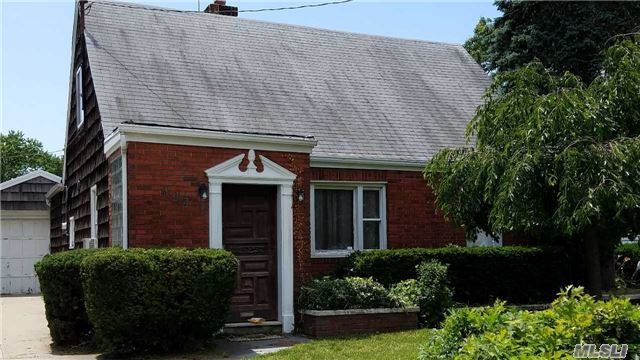 Great Home, Possible Mother Daughter Home With A Separate Entrance, New Bathroom, New Kitchen Floors, Wood Floors, Garage, New Hot Water Heater. Hewlett School District