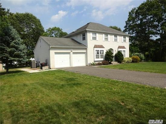 Like New Brick Colonial On Quiet Cul-De-Sac. Featuring Gleaming Wood Floors, Granite And Ss Kitchen, Huge Deck Accessed Through Sliders And Paver Patio With Waterfall. Full Finished Basement With Separate Outside Entrance And 2 Car Attached Garage. Gorgeous Landscape And Setting!