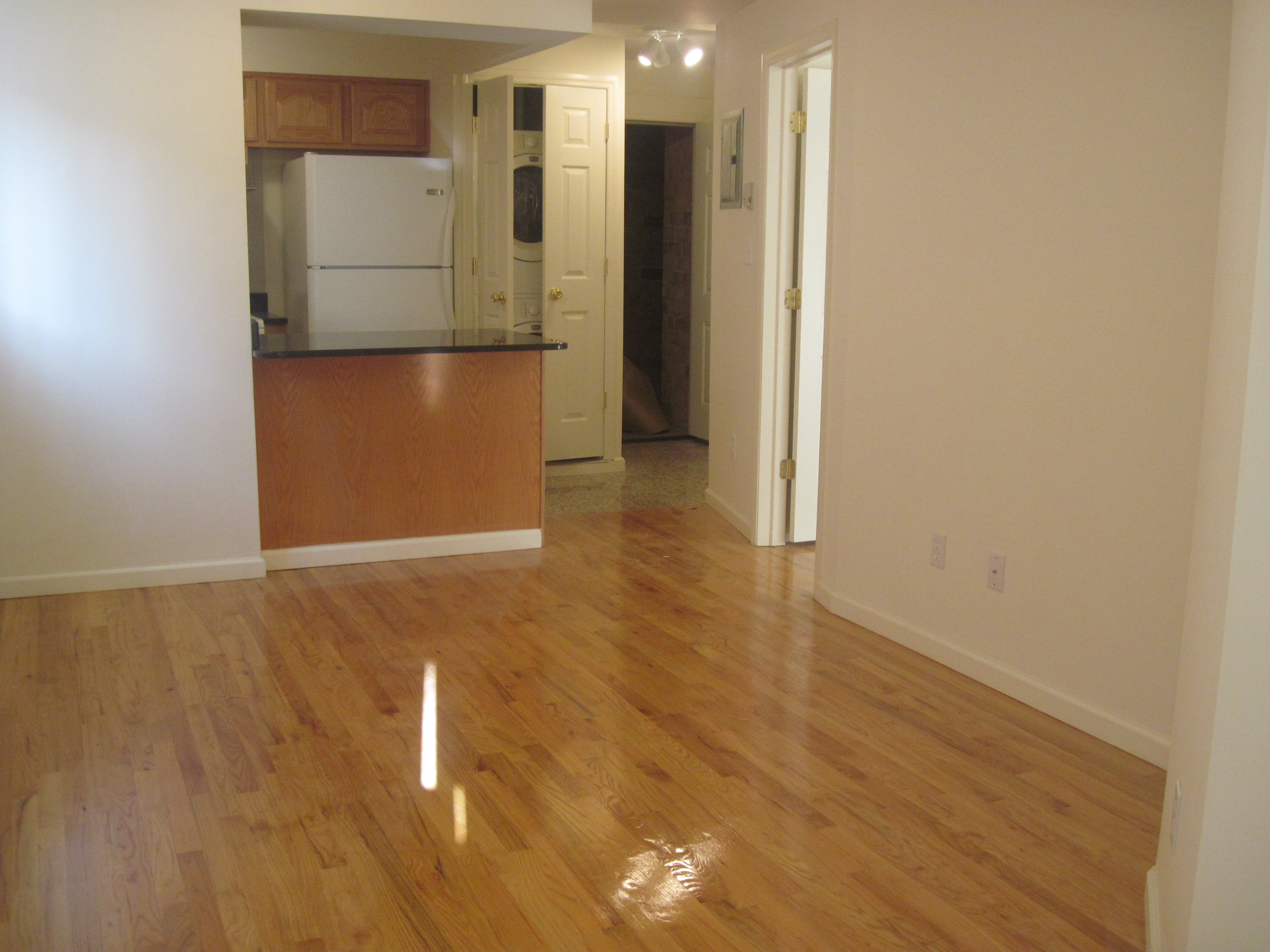 Beautiful Newly Built Condo. 1 Bedroom, Granite Counter Tops, Wood Floors Throughout, Washer/Dryer in Unit, Storage. Convenine to Transportation and Shopping.