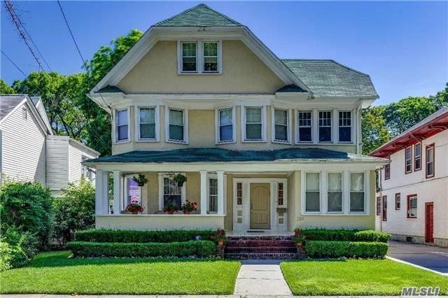 Totally Renovated Colonial On Centrally Located Block In The Heart Of Cedarhurst,  New Gourmet Kosher Eik Including Subzero Fridge And Freezer, 2 Wolf Ovens And Miele Dishwashers. Renovated Bathrooms, New Hvac System, 4 Levels Of Living Space...Literally Move Right In.