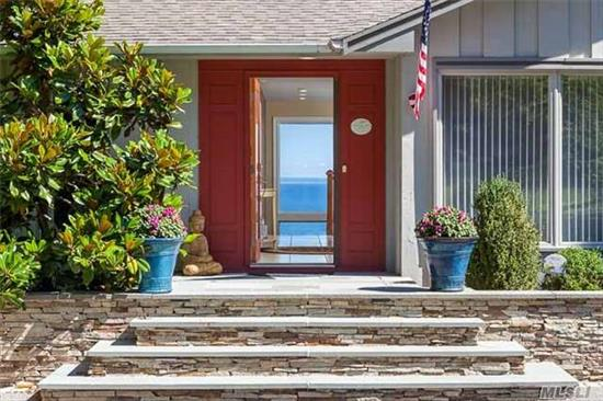 Million Dollar Water View Of The Li Sound. . .The House And Kitchens Are Loaded With Amenities For Resort Like Living And Entertaining. Redesigned New Master Bedroom Suite With A Gas Fire Place, Walk In Closet, Radiant Heat, Deck Overlooking The Sound. Bathroom Waterview, 2 Person Programmable Shower, Granite Double Sink, Heated Toilet.