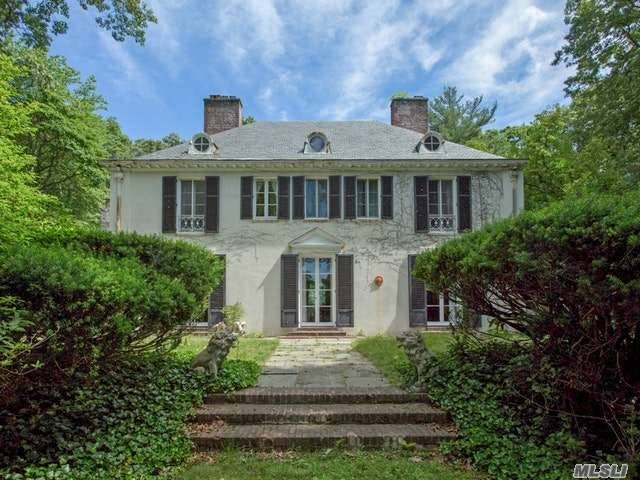 Beautiful Antique Home Set Back For Privacy On 4.26 Acres. 5 Brs, 6 Fbths, 6 Car Att Gar. 1st Flr: Foyer, Utilities, Lndry Br W/Fbth, Office W/Half Bth, Wine Cellar. 2nd Flr: Gallery W/Fpl, Lr W/Fpl, Fdr W/Fpl, Den W/Fpl, Br/Office, Fbth, Br/Office, Fbth, Eik W/Butler's Pantry, Br, Playrm, & Fbth. 3rd Flr: Mstr Br W/Fbth, Addl Lot For $1, 899, 000 Total. Mls#2950846