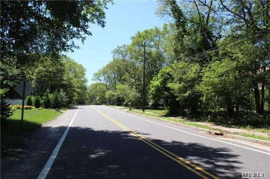 Buildable Lot On A Main Street With Sidewalks, Land