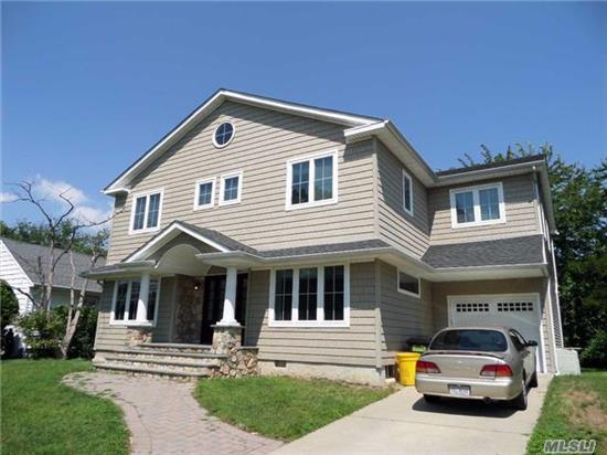 5 Bedroom Center Hall Colonial On Prime Abc Street Block, With Full Finished Basement, Re-Done Kosher Granite Eik, Den, All New Bathrooms, Cac, Radiant Heat On Floors In Kitchen And Master Bathroom, Move-Right-In Condition. Will Go Fast.