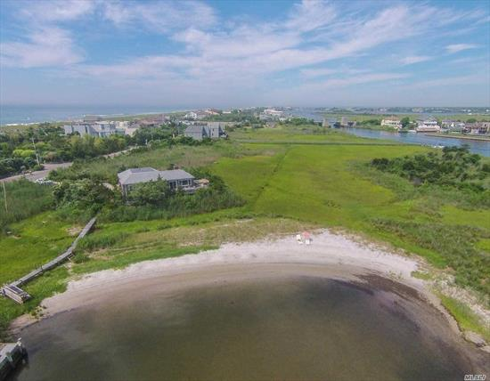 With Its Own 125 Ft Of Bay Beach & Surrounded By 6 Acres Of Preserved Land, 76 Dune Rd Is Situated Perfectly For Privacy & Relaxation. This Cedar Shake Shingled Beach House Offers 3 Brs, 3 Full Bths, Lr, Dr & Eik. Expansive Decks Offer Magnificent & Unobstructed Views Of Quantuck Bay. Pvt Dock & Deeded Ocean Access Via Private Pathway Across Dune Rd. For New Construction, Inquire For Additional Information.
