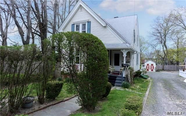 Village 3Br/1Bth Charming Oldie! Eat-In-Kitchen, Dining Rm & Living Rm With Woodburning Fireplace. Gleaming Vintage Hardwood Floors. Custom Moldings Throughout. One Car Garage. Nestled In The Heart Of The Village. Enjoy The Life Of The Big City Or Just Relax Sitting On Your Front Porch...