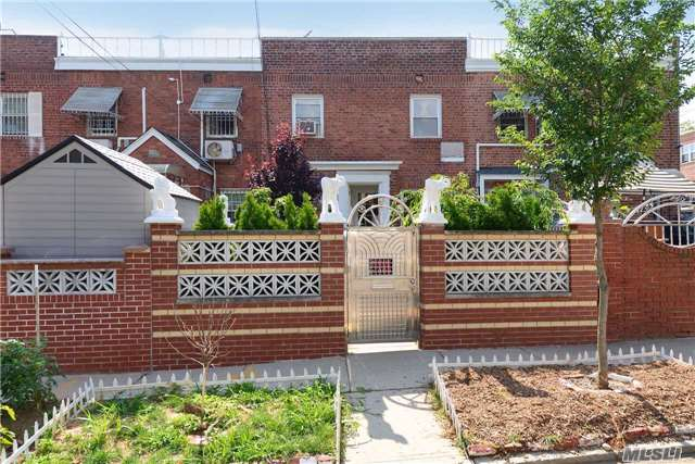 One Family Brick Attached In Flushing, Queens. Well Maintained Home With One Of A Kind Layout, Multi Level Style. Walk In Basement. 1st Floor- Living Room, Dining Room, Kitchen. 2 Nd Floor - 2 Bedrooms With 1 Full Bath, 3rd Floor - Oversized Master Private Suite With Full Bathroom And Walk In Closet. A Must See!!! Won't Last!!! Owner Relocating.