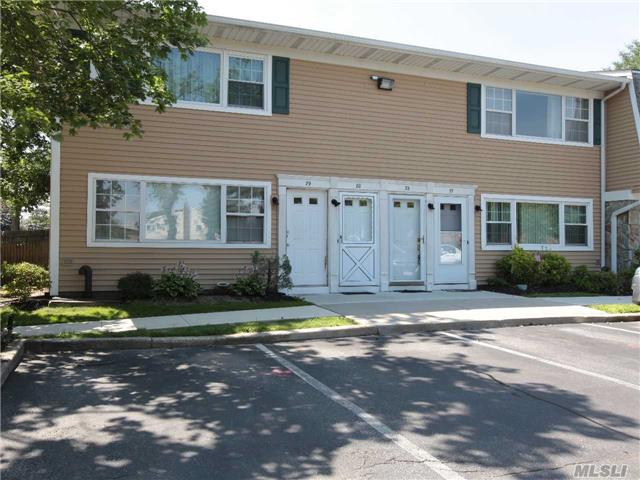 Condo Commuters Delight! Large 2nd Floor 1 Bedroom (Fits King Size Bed) W/Custom Closet Organizers, 1 Full Bath, Eat-In-Kitchen & Pantry W/ Open Window To Living Room W/ Recessed Lighting, Cac, Washer & Dryer, 1 Parking Spot Includ., & Easy Access To Attic W/ Pull Down Staircase For Tons Of Storage! Alarm/Temp All Controlled Via An App On Phone! Steps To Train & Village!