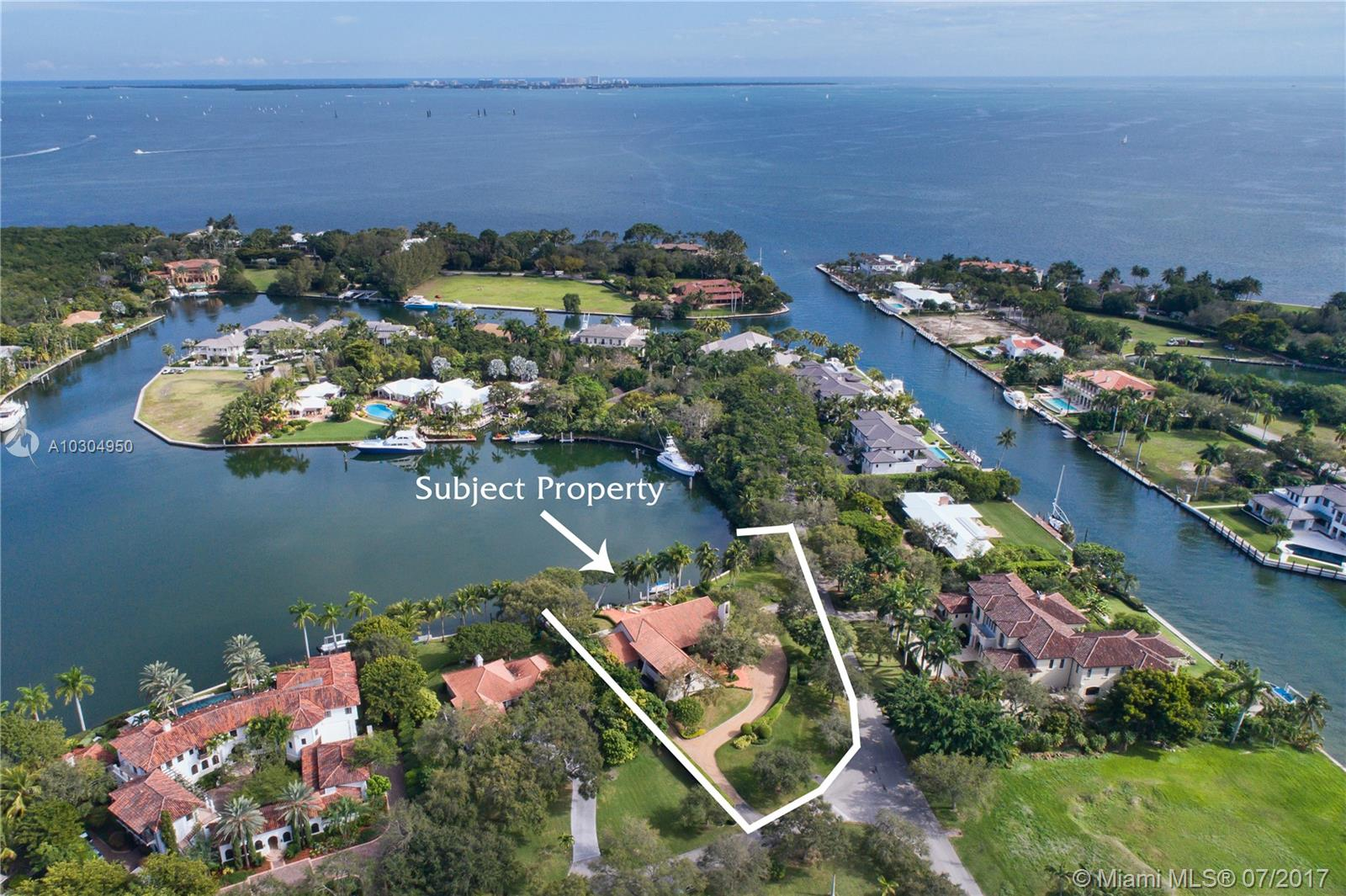 Spectacular Views Surround This Contemporary Styled 5 Bed / 5 B Home In Gables Estates. This Family Home Features Wide Water Views From The Back And A Landscaped Cul-De-Sac Centered By The Tennis Courts From The Front. Additional Features Include A Spacious Play Room, Perfect For Billiards, Movie Watching, Or Large Family Gatherings As Well As A Beautifully Positioned First Floor Master Suite And Office. Along With A Three Car Garage, There Is Also A Separate Covered Parking Pavilion Adjacent To The Garage.