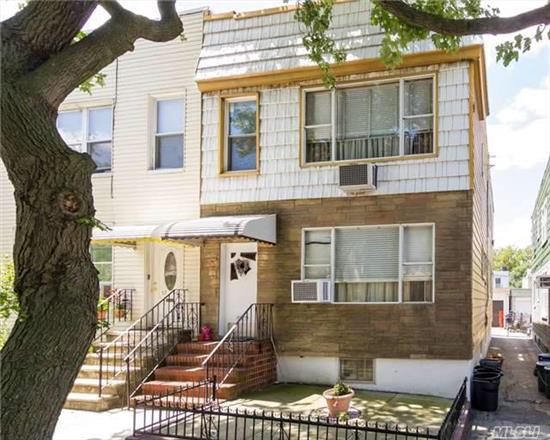 This Amazing 2 Family Home Located In Maspeth Is Highly Desirable. Featuring A Great Layout With 5 Bedrooms, 2 Bathrooms, Full Basement, Accessible To Local/Express Transportation, Near Major Highways Such As Long Island Expressway, & Convenient Local Shopping, Easily Accessible To Manhattan Via Highway & Local Transit.