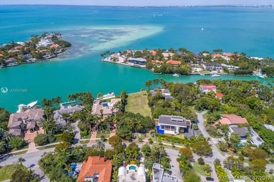Absolutely Spectacular And Unique Property With 27, 656 Sq Ft Of Land On Key Biscayne. Build Your Dream Home On This Outstanding Lot Which Is On Prestigious Harbor Drive And Hurricane Harbor. This Is A Boater'S Dream With Over 100 Feet On The Water And With Incredible And Spectacular Views Of The Bay. This Is One Of A Kind Property!