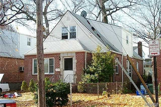 Charming 2 Family Expanded Cape. 1 Bdrm Apt Over 3 Bedrms 1st Floor. Great For Investors.