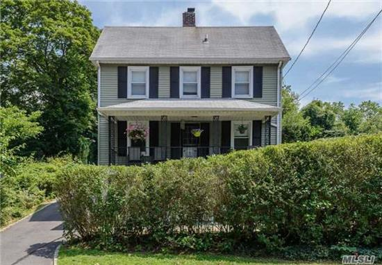 Totally Renovated Charleston Style Colonial. Sunny & Bright With 3 Bedrooms And 2 Bathrooms, Living Room, Eik, Fdr With Vaulted Ceiling. Hardwood Floors Throughout, Private Backyard, Porch & Patio. Great Starter Home, Room For Expansion.