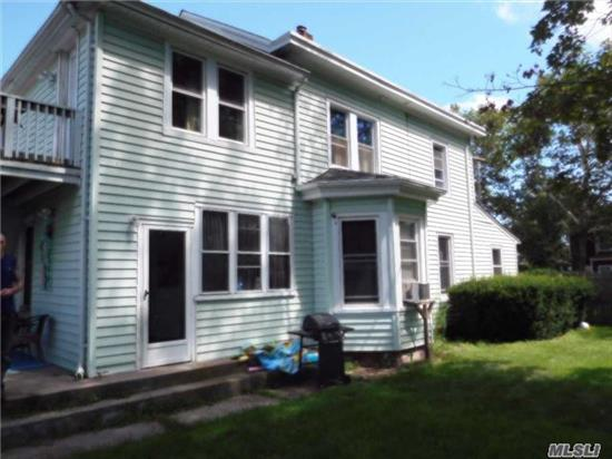 2 Family 2 Story. 3 Brs On 1st Floor And Large 1 Br On 2nd Floor. New Heating System, New Hot Water Heater. New Windows On 2nd Floor. Close To All.