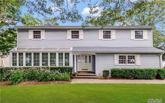 Magnificent Exp Colonial W/Updated Roof & Siding. Ofp, Hrdwd Flrs, Cstm Molding & Recessed Lighting Throughout. Enormous Dr & Flr. Ext Gorgeous Den W/Brick Fpl, Updated Lg Eik W/Ss Appls, Convection Oven, Lots Of Cabinet & Counter Space, Huge Mstr Ste Extension W/Vaulted Ceiling, Mstr Bth, Jacuzzi Tub, Wis & Wic. Fnshd Bsmnt, Resort Style Backyard W/Ig Pool & Cstm Pavers.