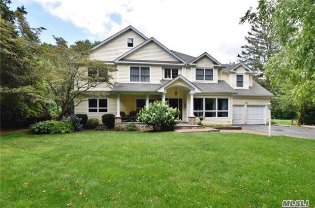 Home Sweet - Harborfields Home 6 Br's & 3.5 Bths. 2 Bedrooms On Main Floor (One With It's Own Bath) Gleaming Hardwood Floors On Main Floor, Custom Woodwork Throughout, New Kitchen With Quartz Counter-Tops And Stainless Appliances. Beautiful Private Acre W/ In-Ground Gunite Pool (Marble Dusted 2016), Bocce Court And Fire Pit.