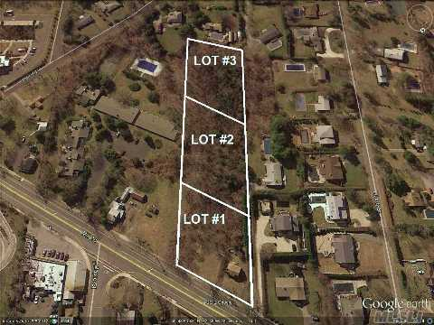 Fantastic Location -- Short Distance To Main St. & Schools (0.1 Mile). 3 Lots For Sale: Lot #1 (257 Mill Rd.) Is A 3/4-Acre Lot Fronting On Mill Rd. W/ Existing 950 Sq. Ft. Cottage,  $499K; Lot 2 (255 Mill Rd.) & Lot 3 (253 Mill Rd.) Are Wooded 1.0-Acre Lots Set 250 Ft & 500 Ft Off Mill Rd.
