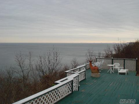 2.1 Acres Of Magnificent Water Front Property With 160 Foot Of Water Frontage. Beautiful Views Of The Long Island Sound. Stairs To Beach.