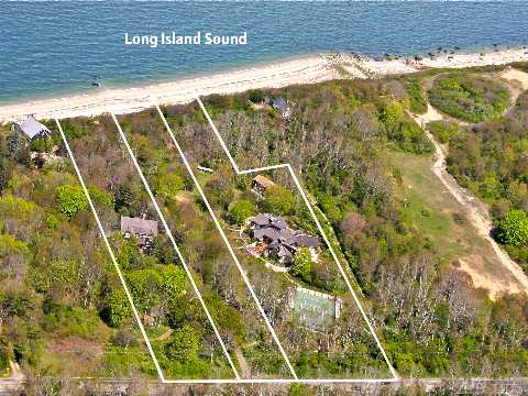 Build Your Dream Home On The Sound!Rustic Wooded Paths Meander Along This Tranquil Property.