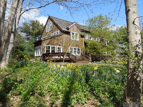 Soundfront! Very Private. 150' Of Soundfront. 2 Story 3 Brs,  3.5 Baths,  Aspen Fireplace/Extensive Stone That Services 3 Rooms,  Billiard Room,  Hot Tub Spa Room,  Spectacular Chef's Gourmet Kitchen And Large Great Room.