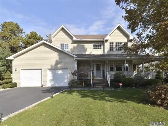 Move Right In! This Is The One You Have Been Waiting For. Granite Kitchen, 4 Seasons Room, Finished Basement W/ Bath, Wrap Around Porch, Easy Access To Highways. A Must See!