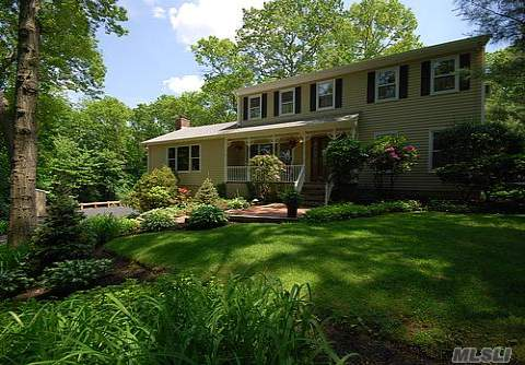 Exceptional Ch Colonial Beautifully Updated With Tremendous Living Space! Formal Living Room W/ French Doors, New Kitchen Opens To Stunning 4 Seasons Rm (18X23) Overlooking Picturesque Secluded Property. Family Room (21X21) With Vaulted Ceiling And Fireplace W/ French Doors Leading To Multi-Level Deck. Taxes W/ Star: $12,165.60
