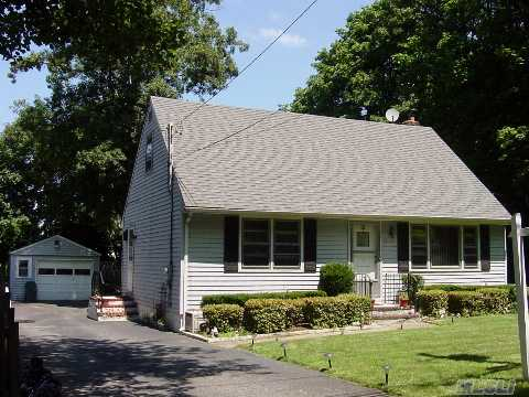 Larger Than It Looks! Move Right Into This Spacious Cape With Young Roof & Boiler,  Large Eat-In Kitchen,  Large Bedrooms,  Large Backyard,  Full Basement W/Ose....(Taxes Being Grieved. Currently Assessed At Over $360K)