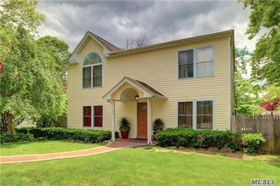 Beautiful Expanded Cape W/ Complete Interior Freshly Painted, In Move-In Condition. 5Br, 2Ba W/Plenty Of Closets, Flr, Fdr, Eik, Den W/French Doors, W/D Upstairs. Recent Upgrades, Convenient To Schools As Well As Parks, Library, Shops & Restaurants.