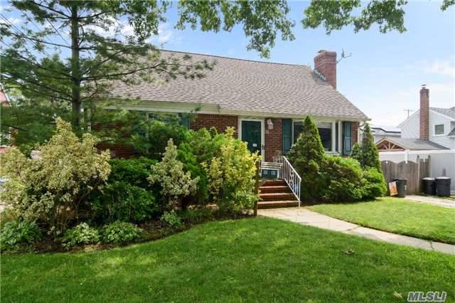 Cape Style Home On Dead-End Street. Fenced In Yard. Finished Basement, Roof Within 8 Years Old, Heating System About 10 Yrs Old. Huge Eik With Entrance To Yard. Fireplace In Living Room. Alarm. Reinhardt/Shore/Grand/Kennedy Schools.