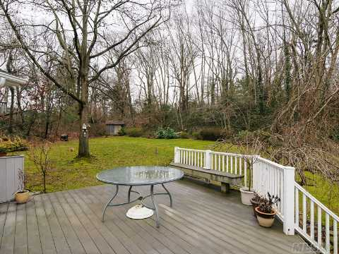 New Deck to Private Backyard