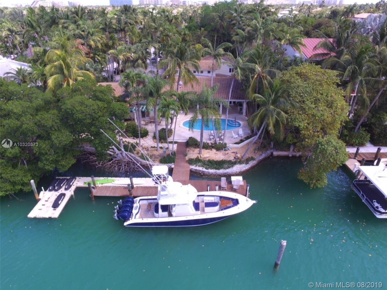 Charming, Secluded Waterfront Home On Private Cul De Sac. Wide Berth Canal Minutes From Biscayne Bay With No Fixed Bridges. 5 Bdrms 4 Bth 1 Half Bth Home With Spacious Outdoor Living Including Pool Great For Entertaining. Mature Landscaping Throughout The Oversized Lot And Equipped With State Of The Art Lighting System. Family Friendly Street With Little To No Traffic On A Daily Basis. With Some Remodeling This Spectacular Residence Can Be Brought To Like New Condition. New Roof In 2015. Extended Dock With Pilings Allows For Large Boats Including Sportfish And Motor Yachts. Floating Dock Attached For Paddleboards, Kayaks, Jet Skis Etc. 24Hrs Notice For Showings.