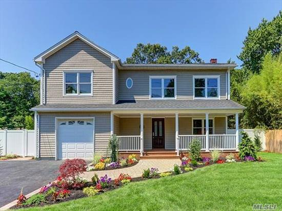 This Beautiful Colonial Has Been Completely Renovated & Is Ready To Move In! 1st Fl Has Open Layout Concept W/New Kitchen, Quartz Counters & Ss Appl, Dining Room, Great Room, 1/2 Bath, 2nd Fl Has A Master Suite W/Full Bath & Wic, 3 Addt'l Br's, Full Bath, Laundry Rm & Attic Access, Cac, Hardwood Floors, 1.5 Car Garage, Trex Porch, Paver Patio, Lg Property, Prof Landscaped. A Must See!!