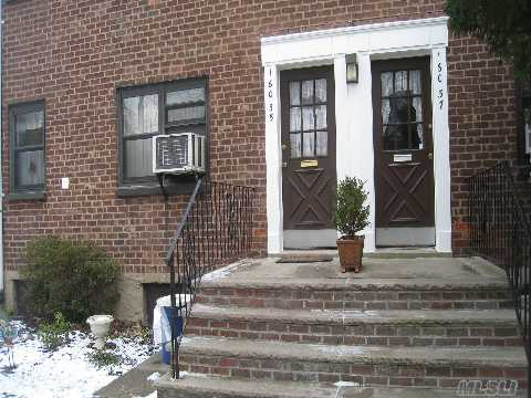 Very Desirable Clearview Coop Lower Level One Bedroom Unit Situated In A Beautiful Courtyard With Living Room,Dining Area,Totally Renovated Bath & Kitchen,New Appliances,Cabinets,Granite Countertops,Washer & Dryer,Polished Hardwoods,Several Closets,Walk To Nyc Express Bus,Main Street Bus,Shopping,Parks,Close Walk To Everything,Whitestone School District 25,Beach Rights,