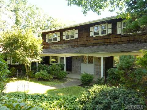 Desirable Loft Estates Beauty! 5 Bdrm 2.5 Bath Center Hall Colonial W/Gleaming Hardwood Floors Throughout. Floor To Ceiling Windows That Overlook Scenic Dix Hills Park Golf Course. Warm And Inviting Marble Fireplace In Family Room. Oversized Eat In Kitchen. Cac, Igp, Bluestone Patio. Taxes W/Star:$16,280.07