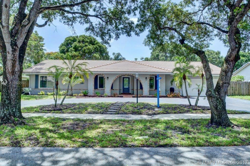 Welcome Home To Your Spacious & Well-Maintained Plantation Estate! This 4 Bedroom 3 Full Bathroom Home Is Ready For New Ownership. Enjoy Open Living Areas, Conveniences And Comforts That Only This Floor Plan Home Can Offer. Features Such As Hurricane Impact Windows And Doors, Updated Kitchen And Baths. View Today!