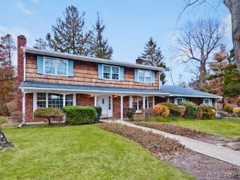 Custom Built Colonial In The Heart Of Old Harbor Green. Beautiful 9 Room Home On Tremendous 140 X 100 Parklike Property. A Great Home In Massapequa's Finest Neighborhood.