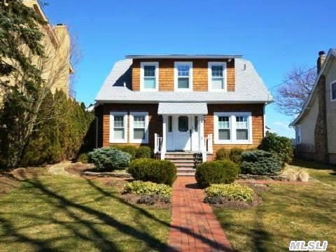 Stunning Waterfront Home Overlooking Li Sound.Hamptons Style Living Boasts 180 Degree Waterviews.Pristine Sandy Beaches. Quality Detailing And Craftmanship Throughout.  Swimming And Sailing Await You.  Just In Time For Summer.